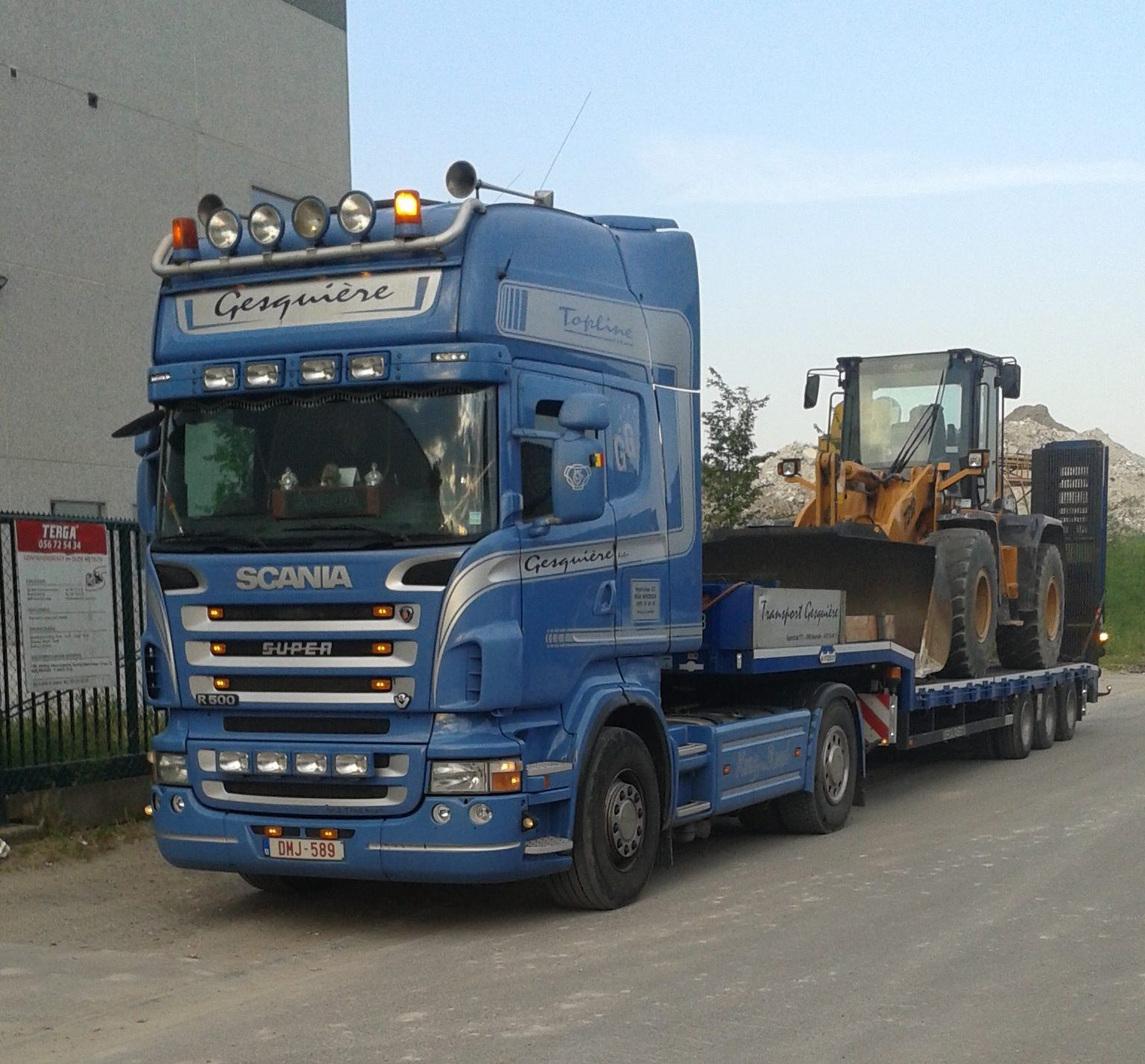 Transport rollend materieel